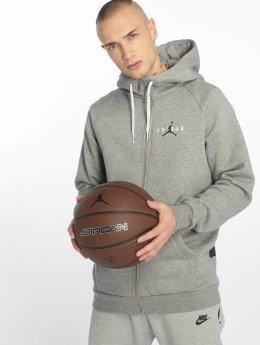 Jordan Zip Hoodie Jumpman Air серый