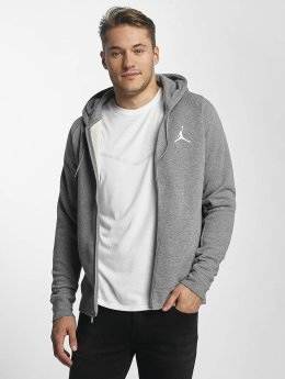 Jordan Männer Zip Hoodie Flight in grau