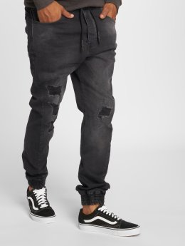 Just Rhyse Antifit jeans Luke svart