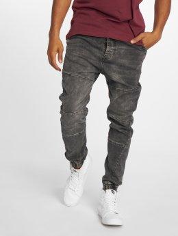Just Rhyse Antifit jeans Cool svart