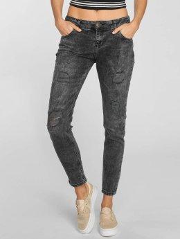 Just Rhyse Boyfriend Jeans Bubbles šedá