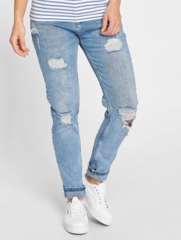 Just Rhyse Boyfriend jeans Bubbles blå