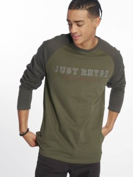 Just Rhyse Camiseta de manga larga Tiquina oliva