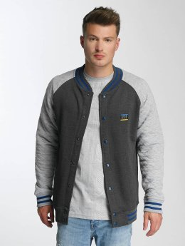 Just Rhyse College Jacke Clearlake grau