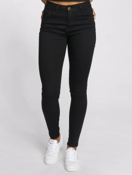 Just Rhyse High waist jeans Buttercup svart