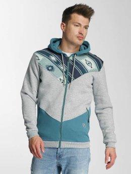 Just Rhyse Hoodies con zip Amidou grigio