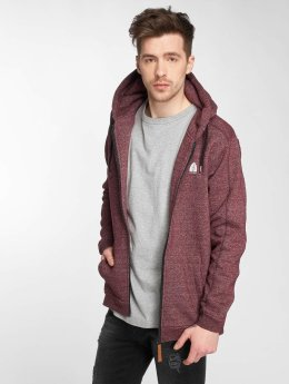Just Rhyse Hoodies con zip Lima rosso