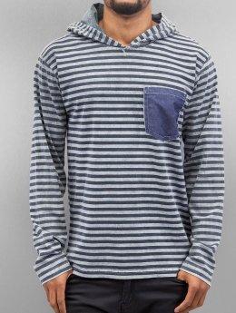 Just Rhyse Hoody Stripes grau