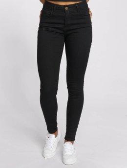 Just Rhyse Jeans de cintura alta Buttercup negro