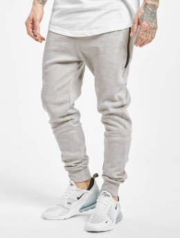 Just Rhyse Big Pocket Tech Sweatpants Light Grey Melange