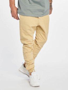 Just Rhyse Látkové kalhoty Börge béžový