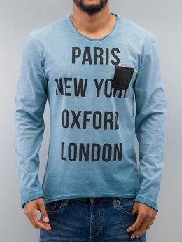 Just Rhyse Longsleeve Paris blauw