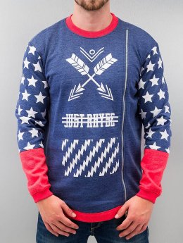 Just Rhyse Pullover Star blau