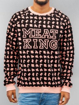 Just Rhyse Pullover Animals schwarz