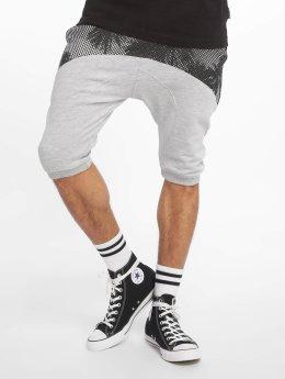 Just Rhyse Shorts Palms  grå