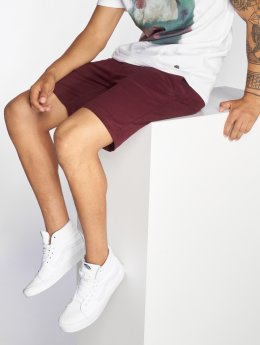 Just Rhyse Barranca Chino Shorts Burgundy