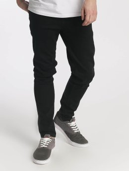 Just Rhyse Männer Slim Fit Jeans Ensenada in schwarz