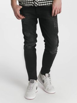Just Rhyse Straight Fit Jeans Destroyed grey