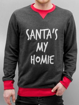 Just Rhyse Sweat & Pull Northpole gris