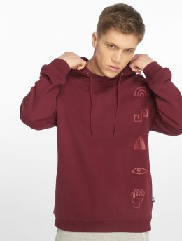 Just Rhyse Sweat capuche Culpina rouge