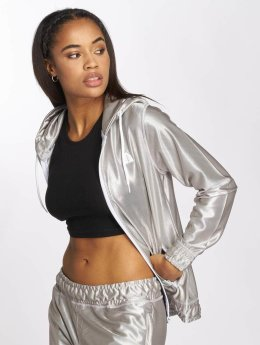 Just Rhyse Sweat capuche zippé Chicosa argent