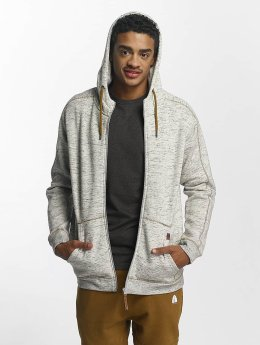 Just Rhyse Sweat capuche zippé Clover Pass gris