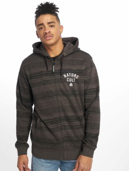 Just Rhyse Sweat capuche zippé Guaqui gris
