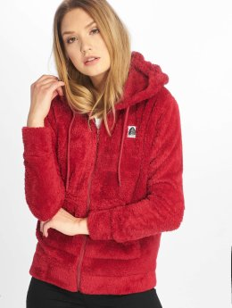 Just Rhyse Sweat capuche zippé Arequipa rouge
