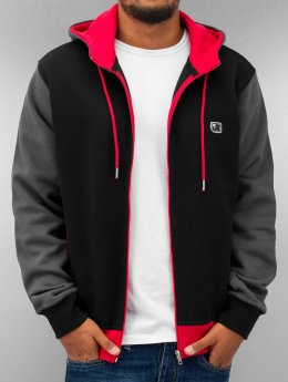 Just Rhyse Sweatvest Oxid zwart