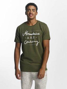 Just Rhyse T-paidat Kasaan oliivi