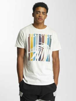 Just Rhyse T-Shirt Palm Springs blanc