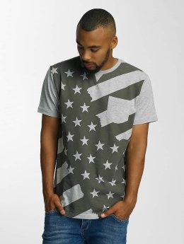 Just Rhyse T-Shirt Meadow Lakes grau