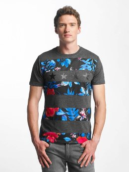 Just Rhyse t-shirt Anchorage grijs
