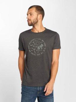 Just Rhyse t-shirt Sant Lucia grijs