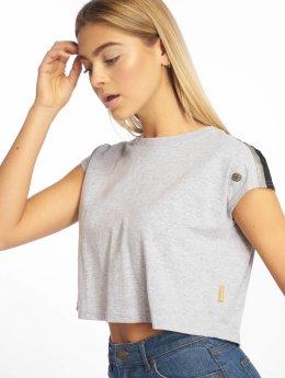 Just Rhyse t-shirt Villamontes  grijs