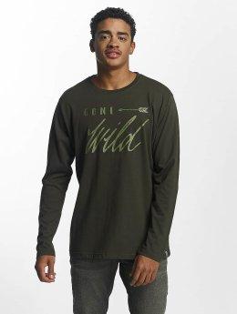 Just Rhyse T-Shirt manches longues Naukati olive