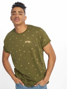 Just Rhyse t-shirt San Vicente olijfgroen