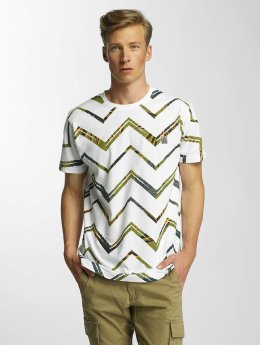 Just Rhyse T-Shirt Clear Creek weiß