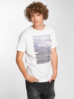 Just Rhyse T-Shirt Icy Bay weiß