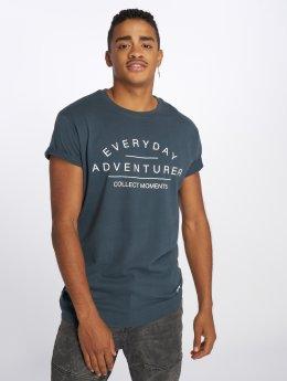Just Rhyse T-shirts Adventurer blå