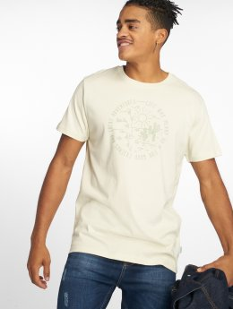 Just Rhyse T-Shirty Sant Lucia bialy