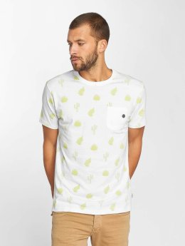 Just Rhyse T-Shirty Zepita bialy
