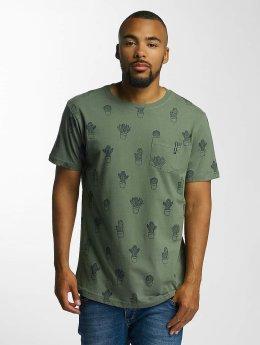 Just Rhyse T-Shirty Cedarville  oliwkowy