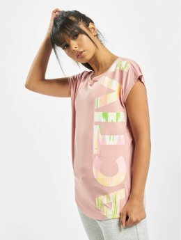 Just Rhyse T-Shirty Mataura Active rózowy