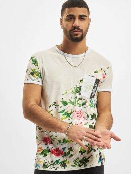 Just Rhyse T-skjorter Flower grå