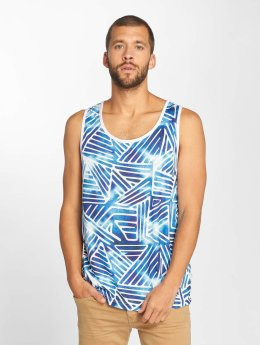 Just Rhyse Alcata Tank Top Blue/ White