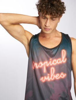 Just Rhyse Chaje Tank Top Anthracite/ Colored