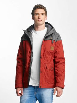 Just Rhyse Winter Jacket Warin red