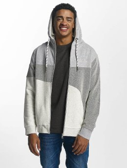 Just Rhyse Zip Hoodie Rusher grey