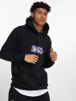 K1X Bluzy z kapturem Box Logo czarny